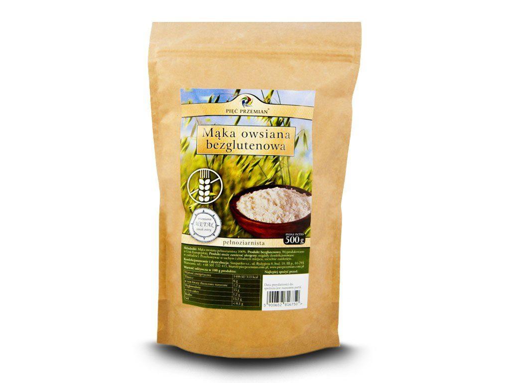 mąka owsiana bezglutenowa