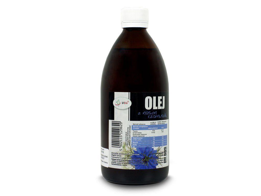 olej z czarnuszki, czarnuszka, olej z czarnuszki cena