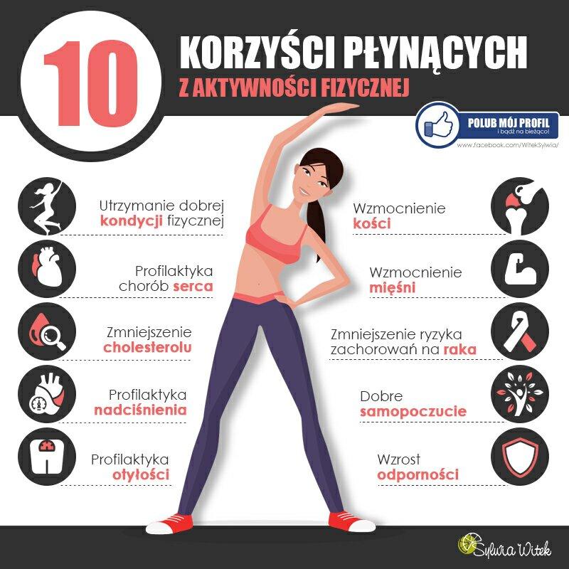 aktywność fizyczna - jakie korzyści,