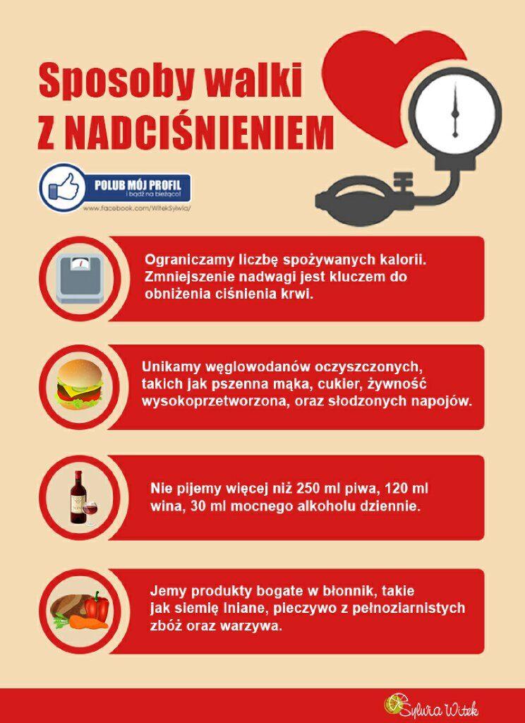 sposoby walki z nadciśnieniem