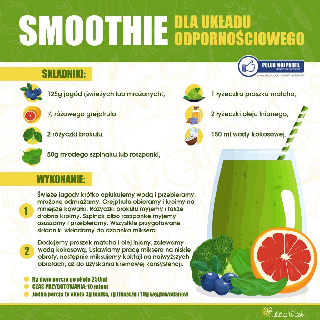 smoothie dla układu odpornościowego