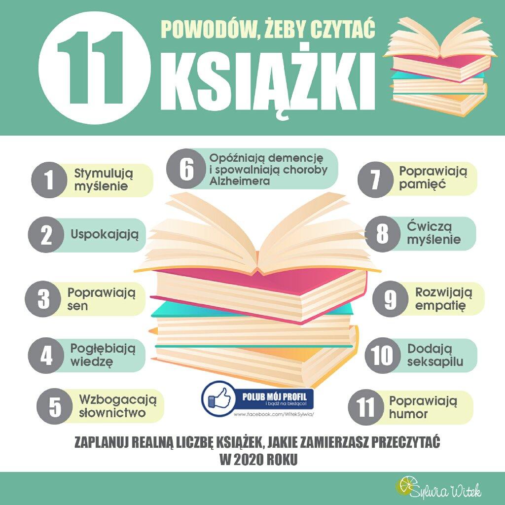 11 powodów żeby czytać książki
