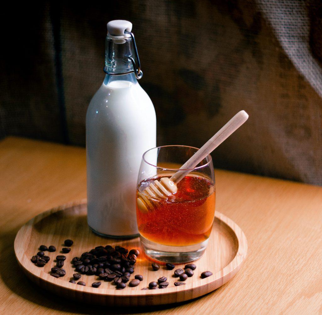 miód - zamiast cukru